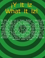 Y It Iz What It Iz by FiskXPhantom
