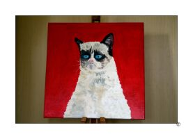 A Grumpy Cat by thejamcascru