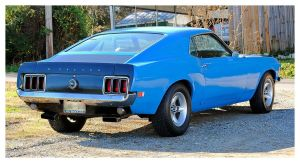 A 1970 Ford Mustang by TheMan268