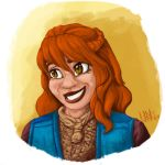 Molly Weasley by Silent-nona-light