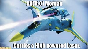 ADFX-01 Morgan by Hellomon100