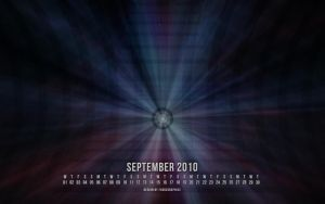 September 2010 Wallpapaper by fudgegraphics