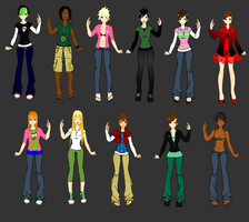 TDI Gender Bender -Guys- by cococheese