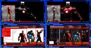 Thema windows7 Iron Man by bir2d