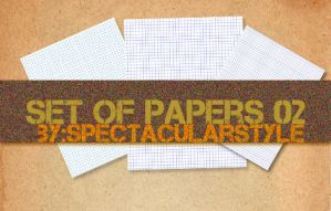set of papers 02 by spectacularstyle