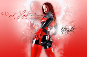 Red Hot Bianca by UniqueOneDesigns