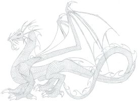Celestial Dragon by hatirrisworldproject