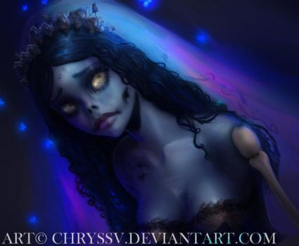 Corpse Bride - Emily by chryssv