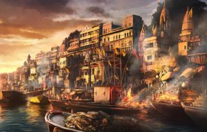 Burning Ghats by JonasDeRo