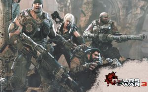 Gears of War 3 by LogrusChaos