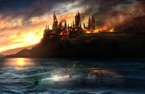 Harry Potter DH Wallpaper by Lilith1985