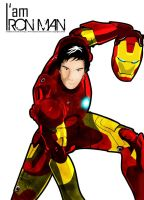 I am Iron Man by 4minutesart