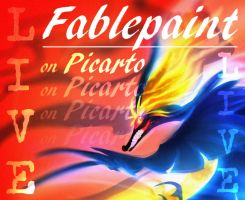 Banner Live by FablePaint