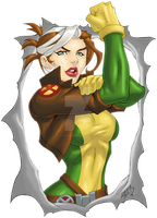 Rogue COLORED 2012 by LucasAckerman