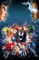 voltron cover book #4 by hanonly1