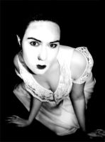 20s self portrait 1 bw version by spilt-sugar