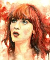 Florence Welch by rushijay