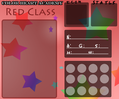 Color Heart Academy App - Red Class by Snow-ish