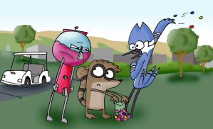 Regular Show - Gumballs by AJMSTUDIOS