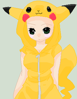 Base 064 - Pikachu Hoodie by British-Bases