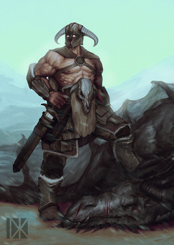 Barbarian by VoidJaeger