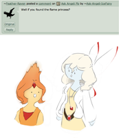 Question 14: Flame Princess by Angeli-The-Icefairy