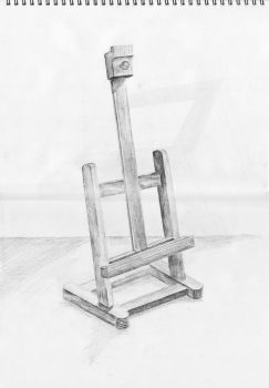 Miniature Easel by joabo42