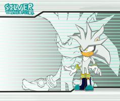 Silver the Hedgehog in Sonic Battle by anthey925