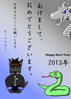 Happy New Year! 2013 by K-HENRY