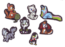 Some Cute Chibi Animals by Golden-Brush