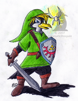 Penguin Link by EnigmaticPenguin