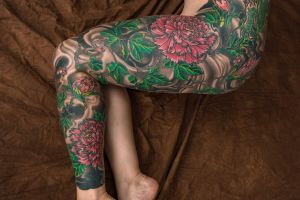 Leg (Outside) by Chad Emerson by artistryofchamelia