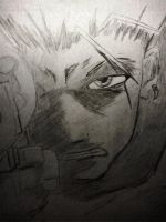 Vash The Stampede - WIP by AmayasFantasy