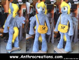 Derpy MLP Pony Horse Fursuit by AtalontheDeer