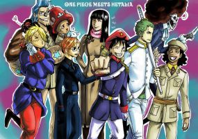 One Piece meets Hetalia by LadyDeadPooly