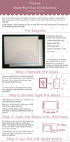 Tutorial: How to Make Your Own Work Surface by ShinyCation