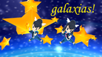 MMD Liza and Tate Galaxias by Frostmay251