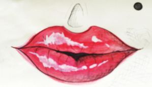 those famous lips by new-hearts