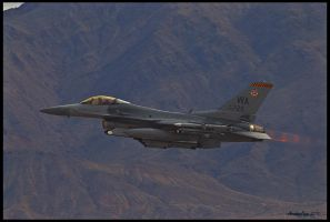 Nellis F-16 by AirshowDave