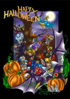 Rockman - Happy Halloween - by Taleea