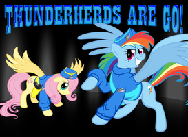 Thunderherds are GO! by QTMarx
