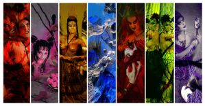 Seven Deadly Sins by BeccyBex