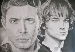 Winchester Brothers by ElocinImages