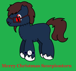 Merry Christmas scorpiontorn by Vector-Brony