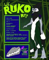 Fursona Ref by RadioactiveBirds