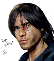 Realism: Jared Leto by Witchii-chan