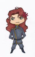 Nephrite chibi by CynicalSniper