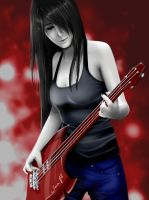 marceline the vampire queen by TiaAnthy