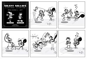 Silent Sillies 48 - Wally catches a... pet? by JK-Antwon