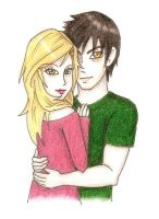 Rosalie and Emmet by Cloudyh